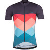 Triple2 Velozip Performance Jersey Men Mykonos Blue